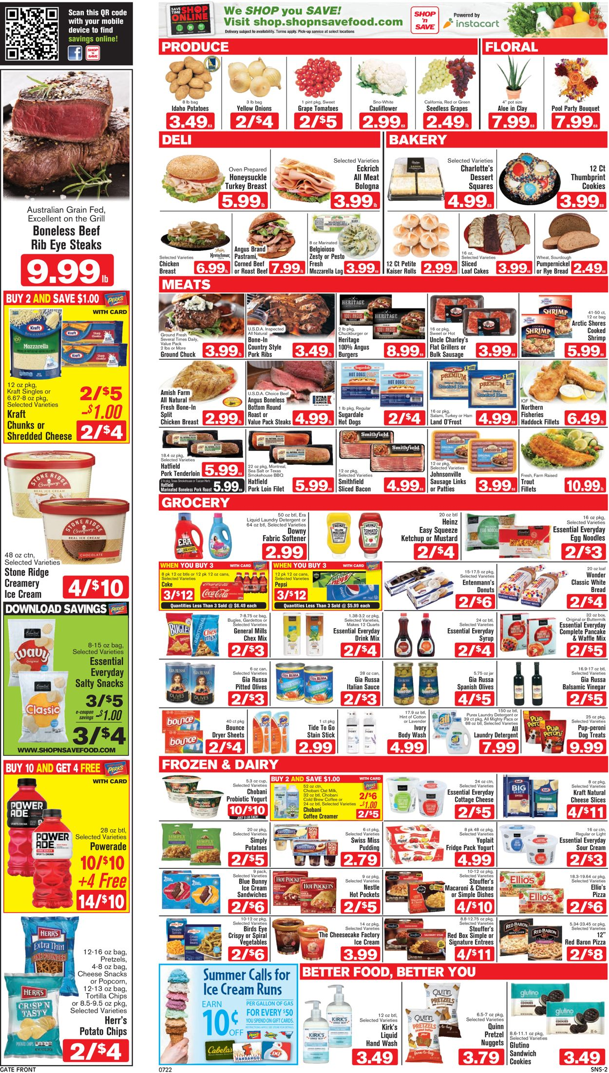 Shop 'n Save Weekly Ad Circular - valid 07/22-07/28/2021 (Page 2)