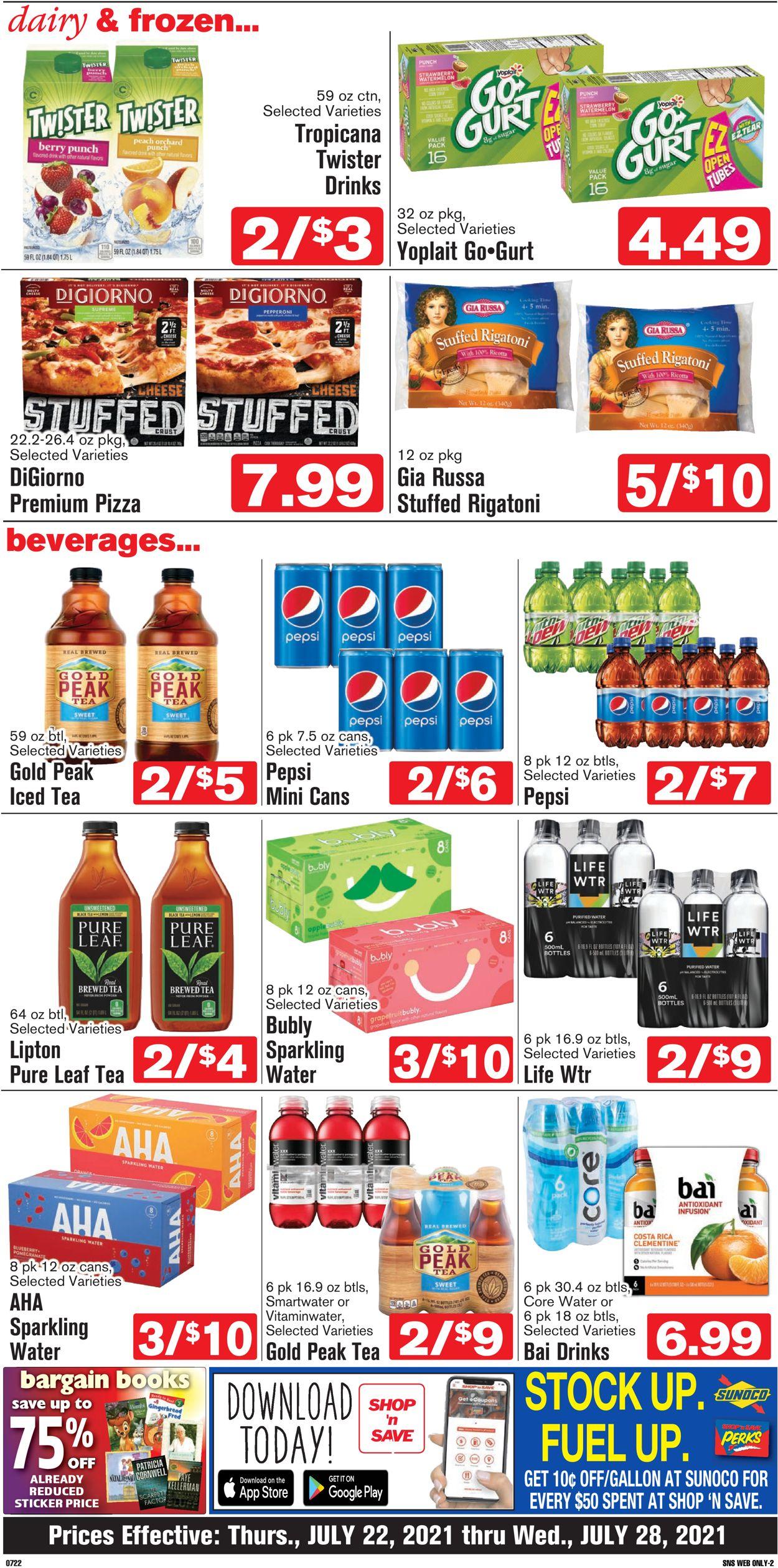 Shop 'n Save Weekly Ad Circular - valid 07/22-07/28/2021 (Page 4)