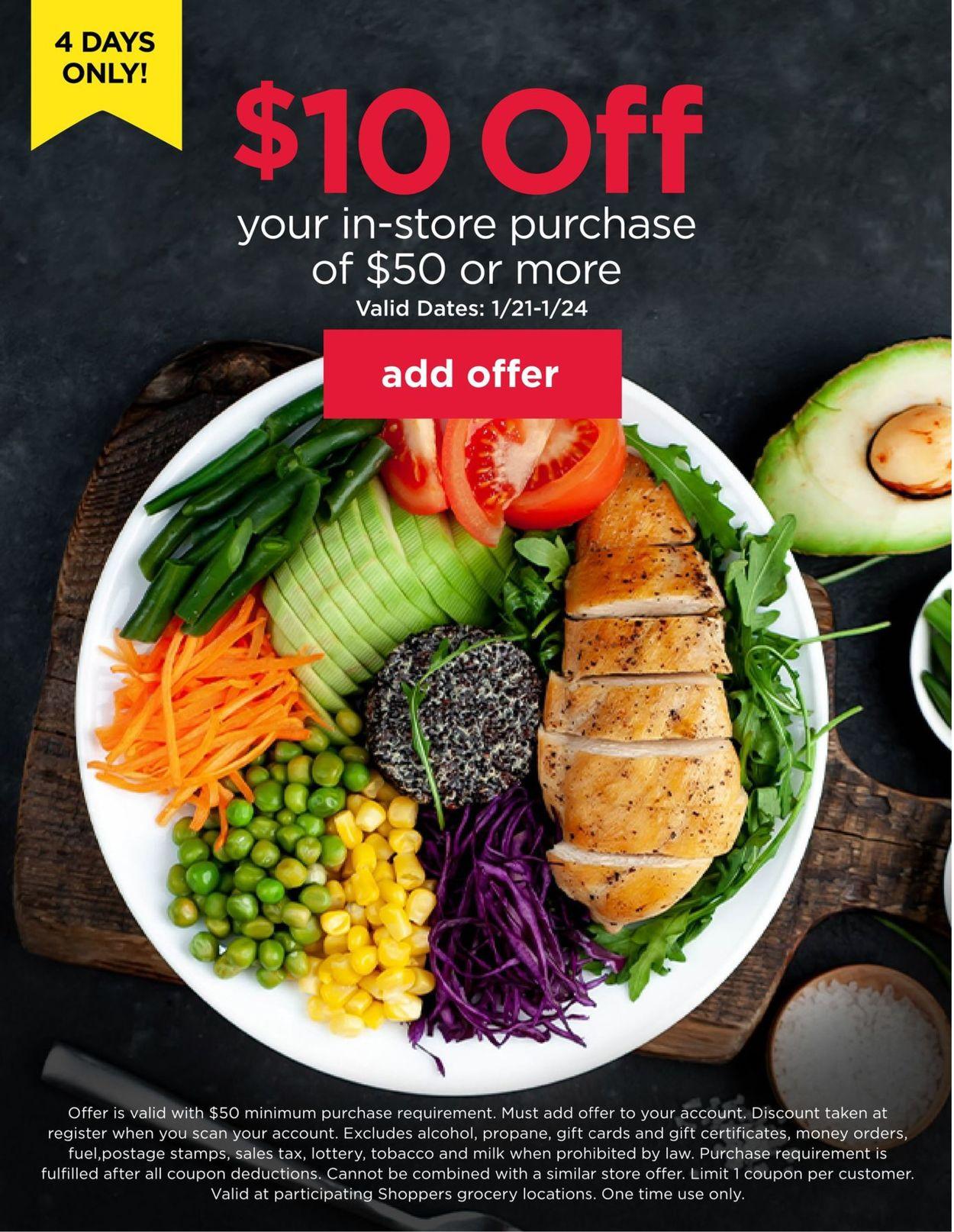 Shoppers Food & Pharmacy Weekly Ad Circular - valid 01/21-01/24/2021