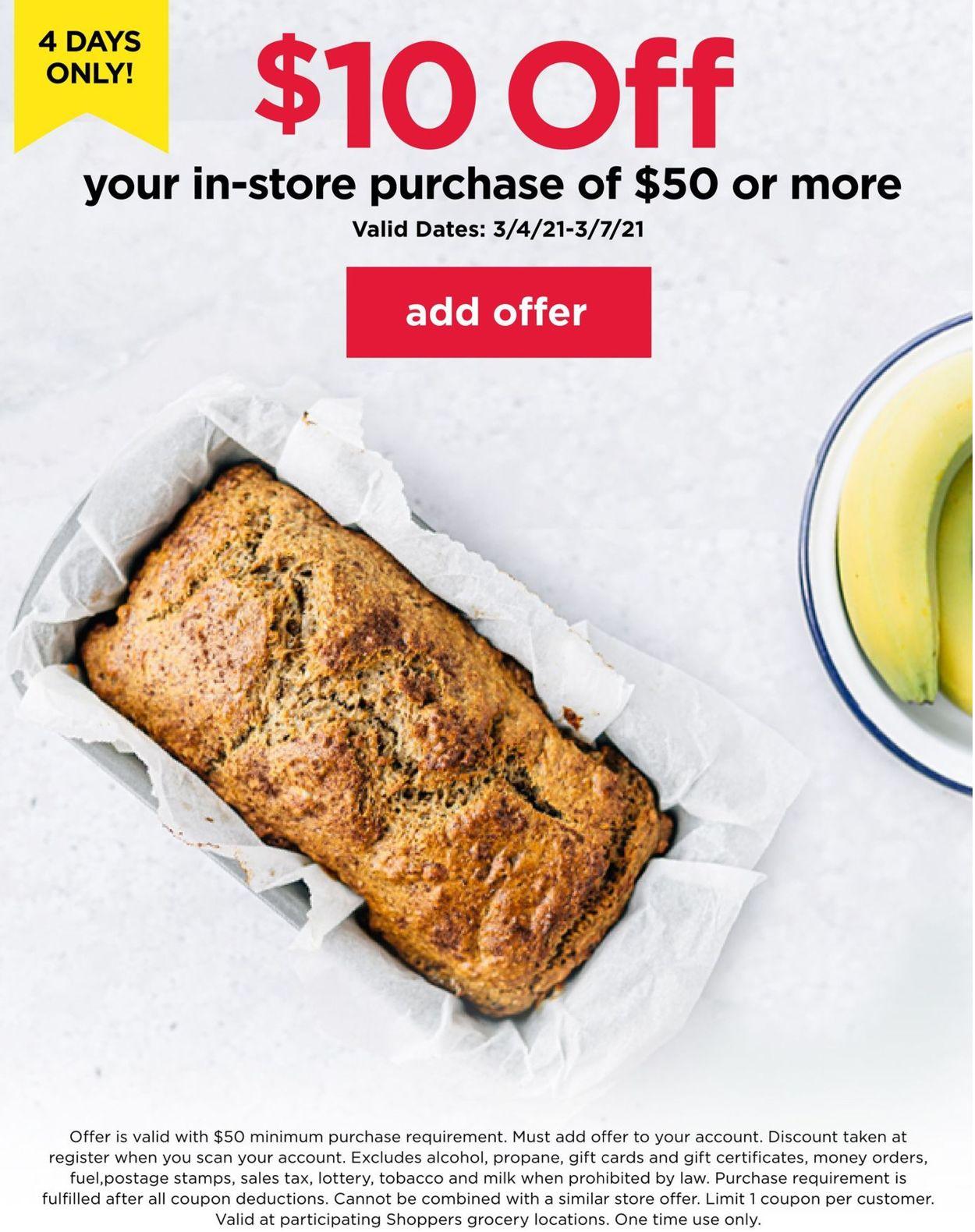 Shoppers Food & Pharmacy Weekly Ad Circular - valid 03/04-03/07/2021
