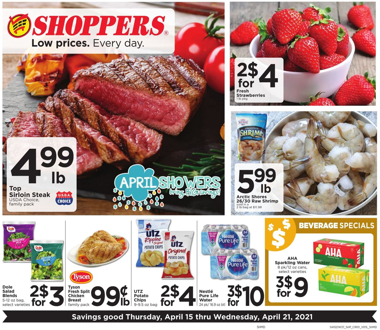 Shoppers Food & Pharmacy Weekly Ad Circular - valid 04/15-04/21/2021