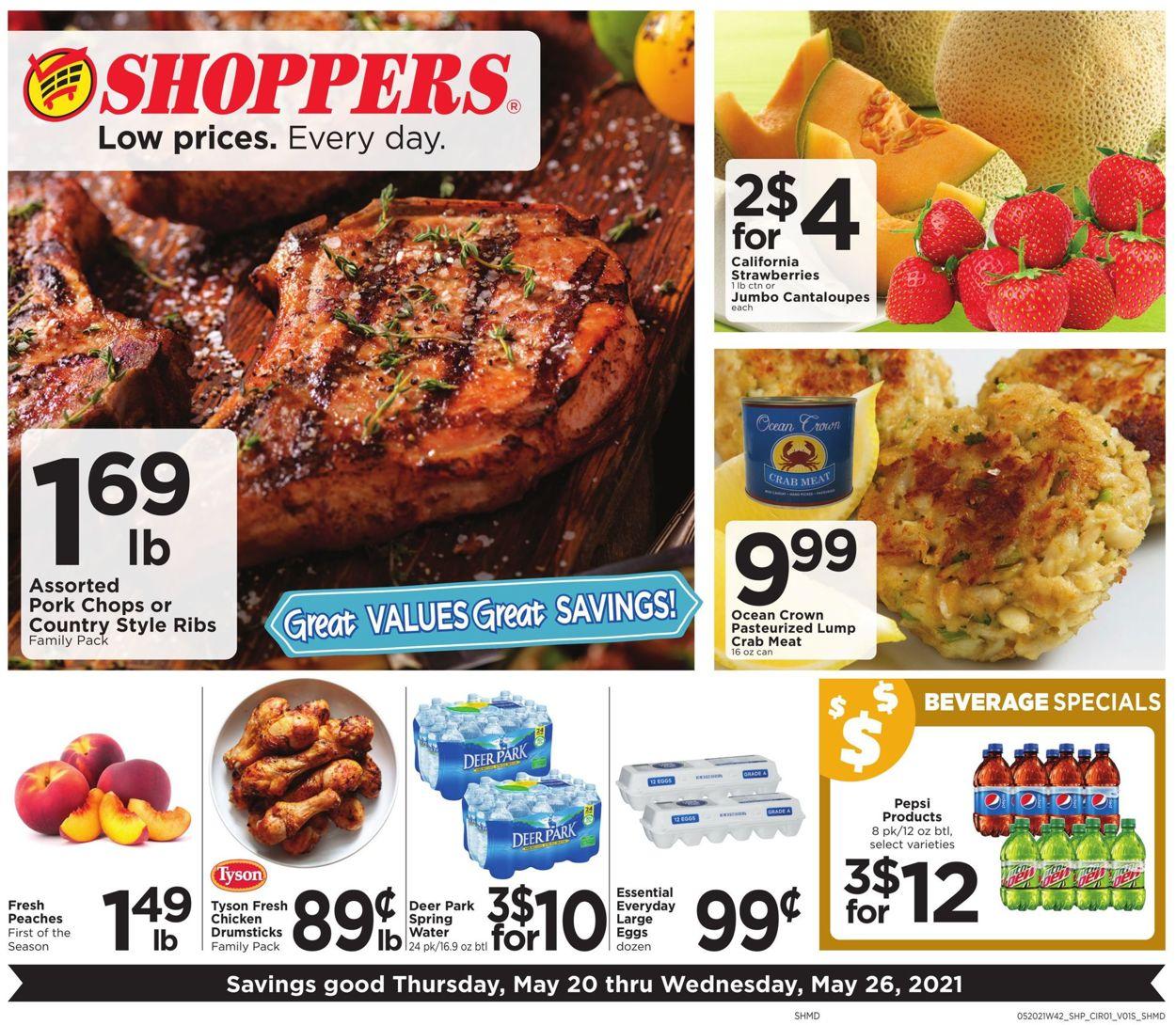 Shoppers Food & Pharmacy Weekly Ad Circular - valid 05/20-05/26/2021