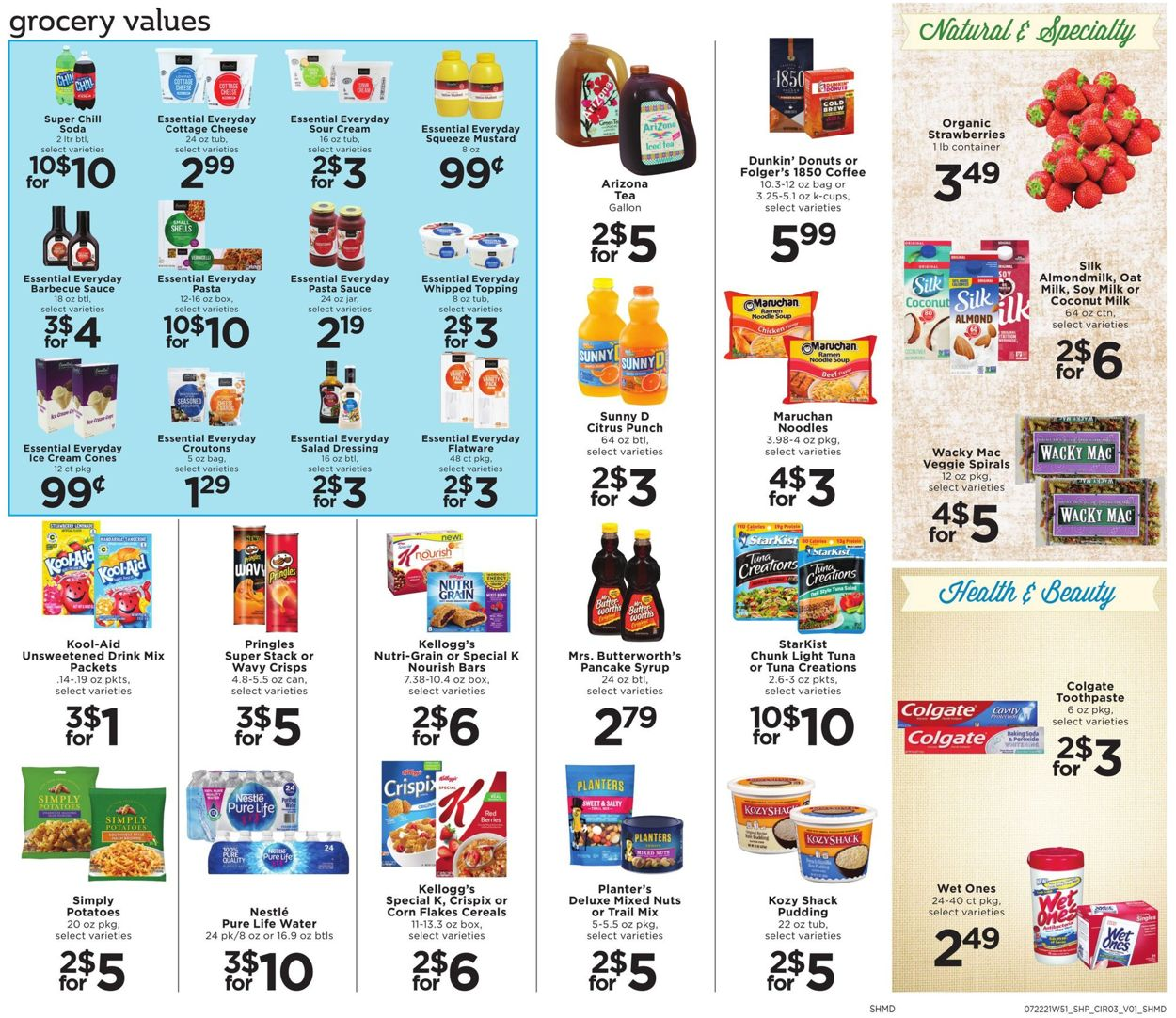 Shoppers Food & Pharmacy Weekly Ad Circular - valid 07/22-07/28/2021 (Page 3)
