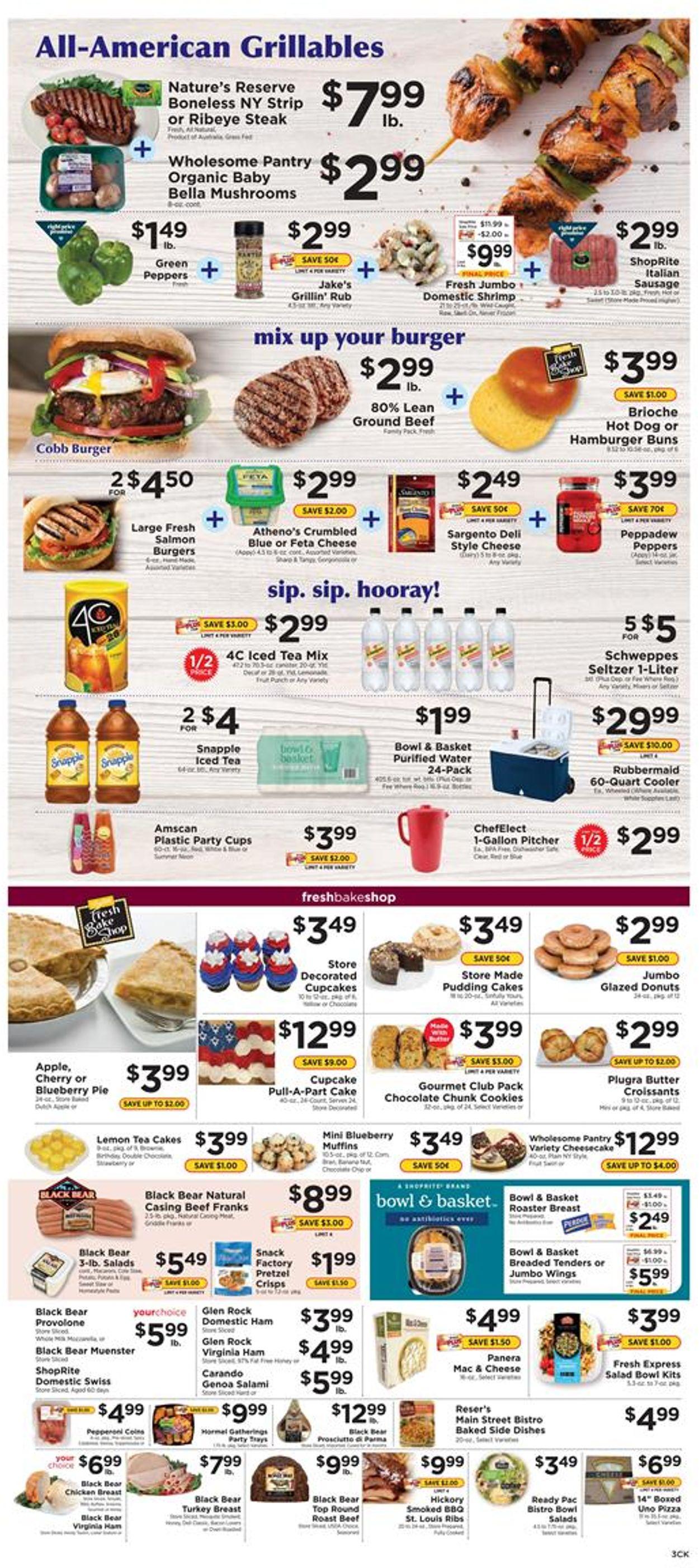 ShopRite Weekly Ad Circular - valid 06/28-07/04/2020 (Page 3)
