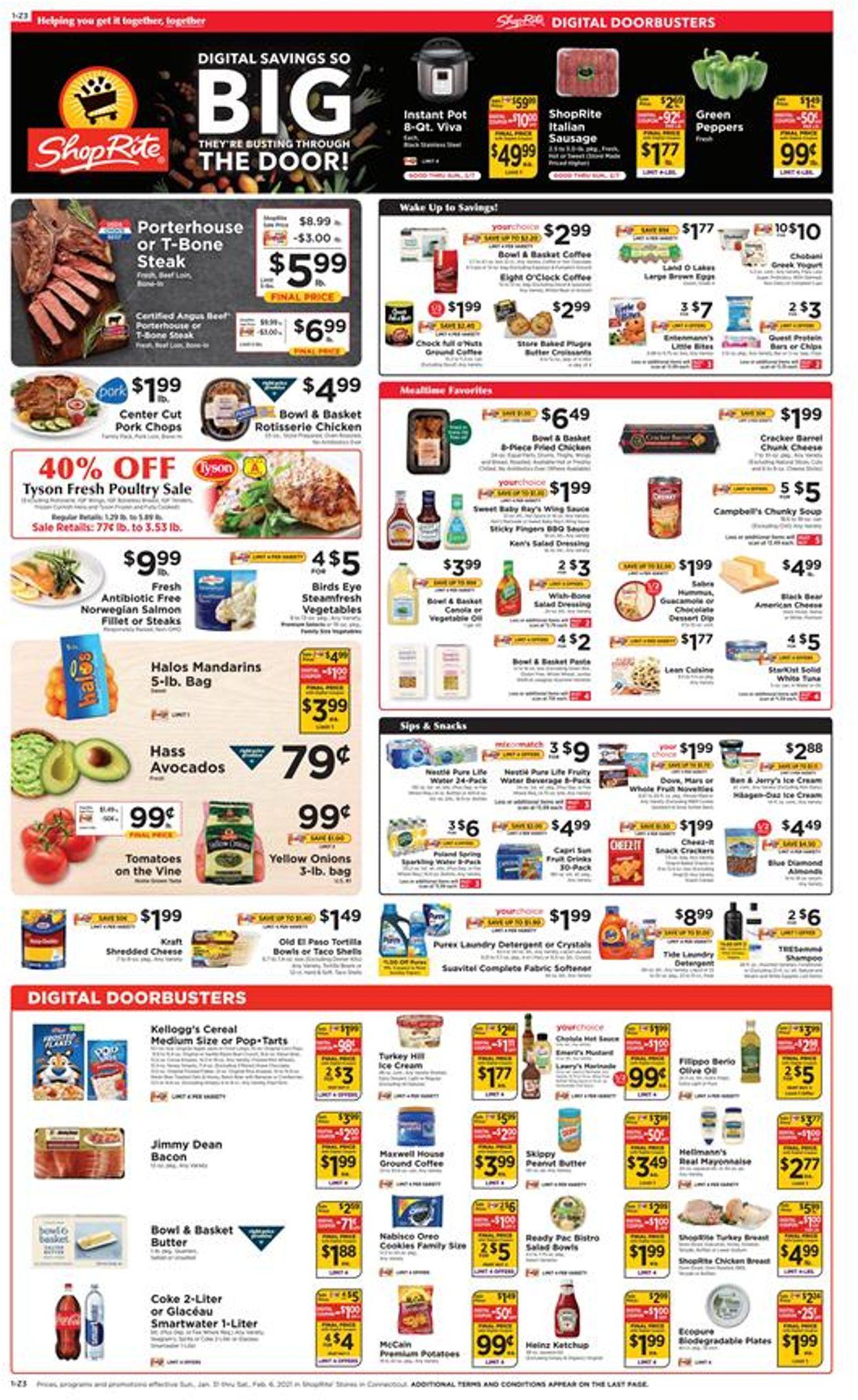 ShopRite Weekly Ad Circular - valid 01/31-02/06/2021