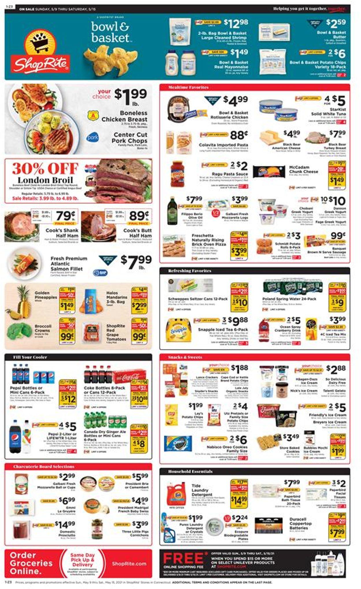 ShopRite Weekly Ad Circular - valid 05/09-05/15/2021