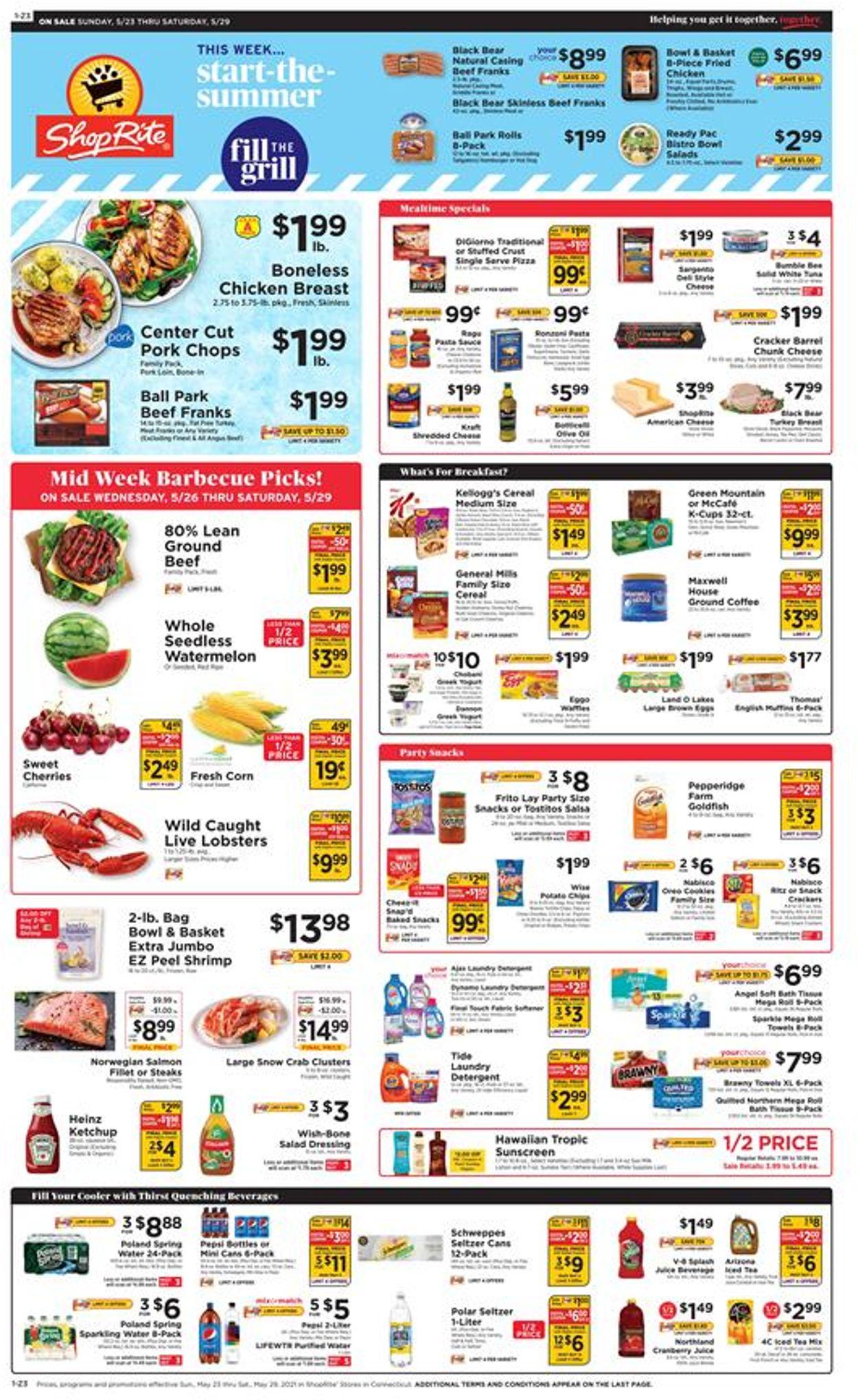 ShopRite Weekly Ad Circular - valid 05/23-05/29/2021