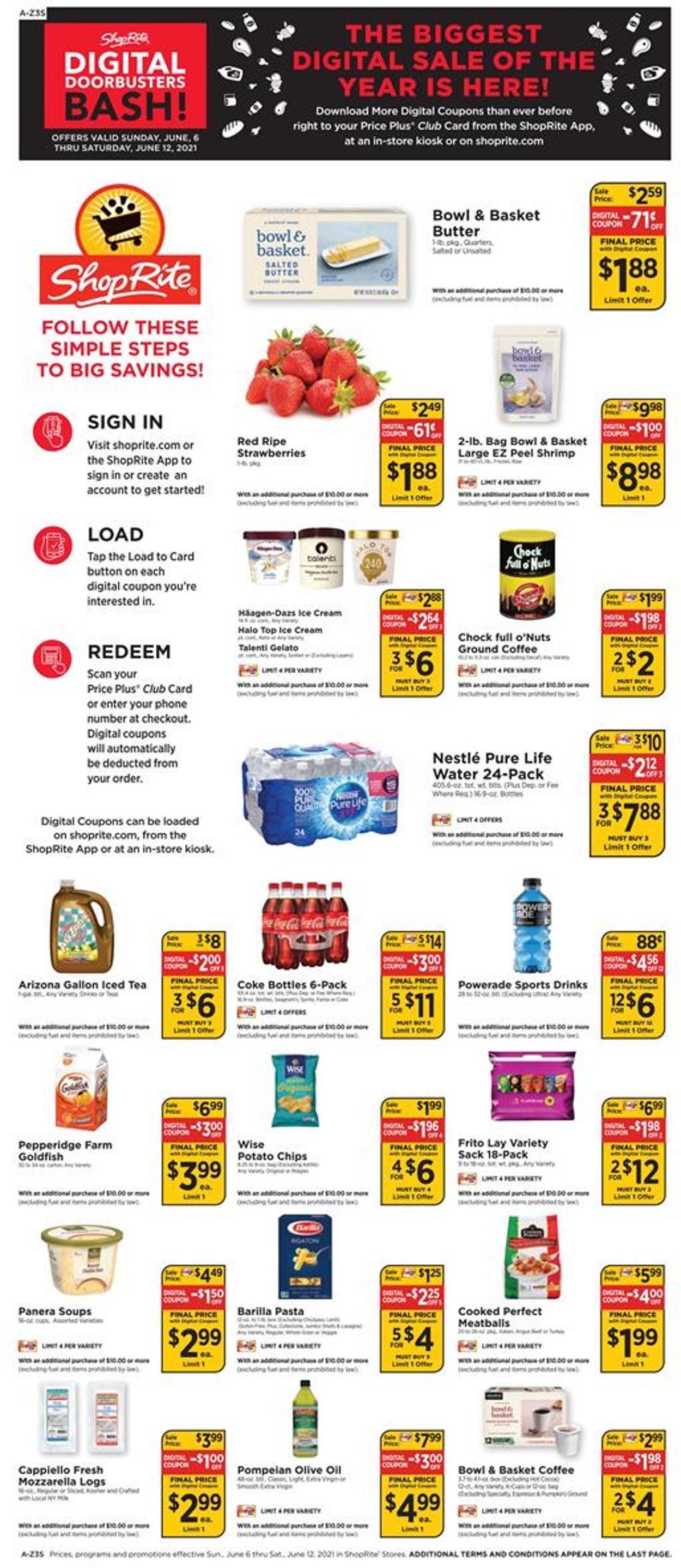 ShopRite Weekly Ad Circular - valid 06/06-06/12/2021