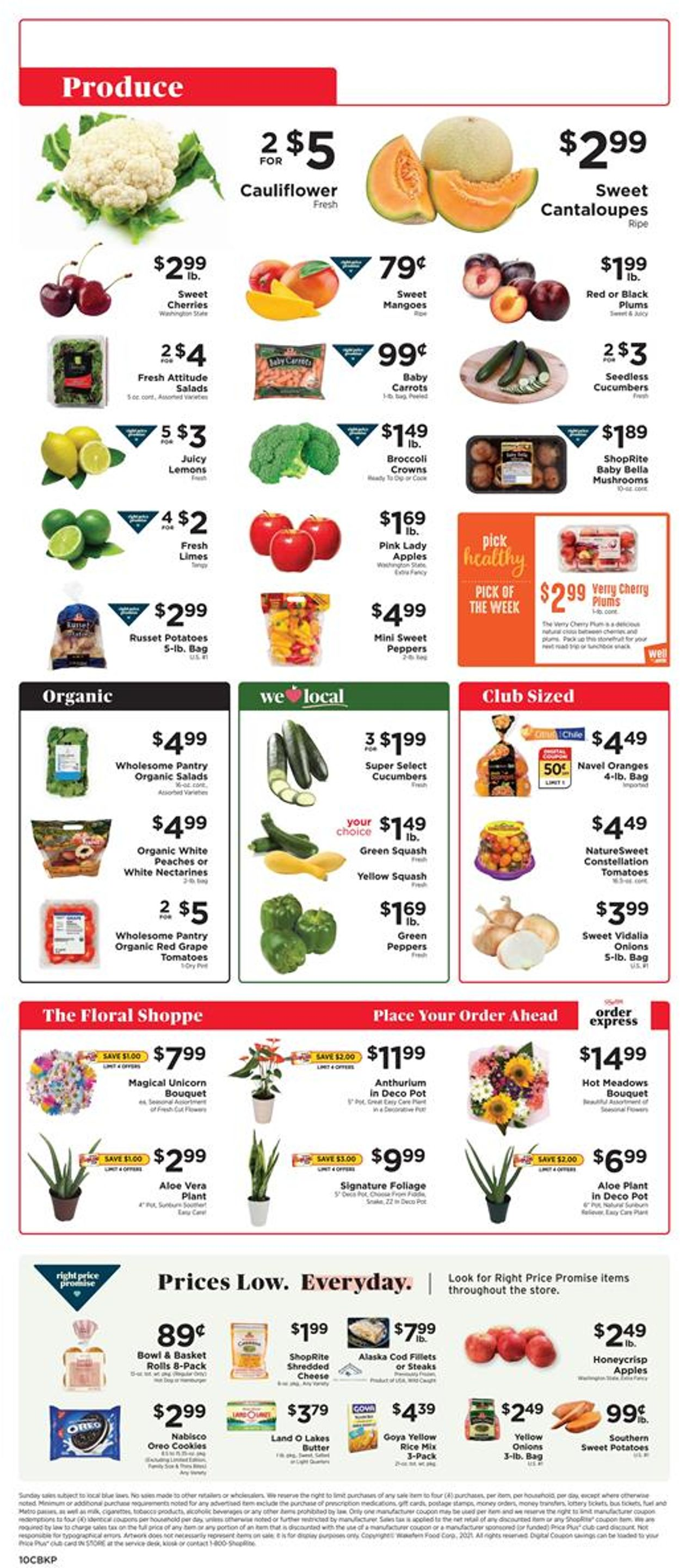 ShopRite Weekly Ad Circular - valid 07/25-07/31/2021 (Page 10)