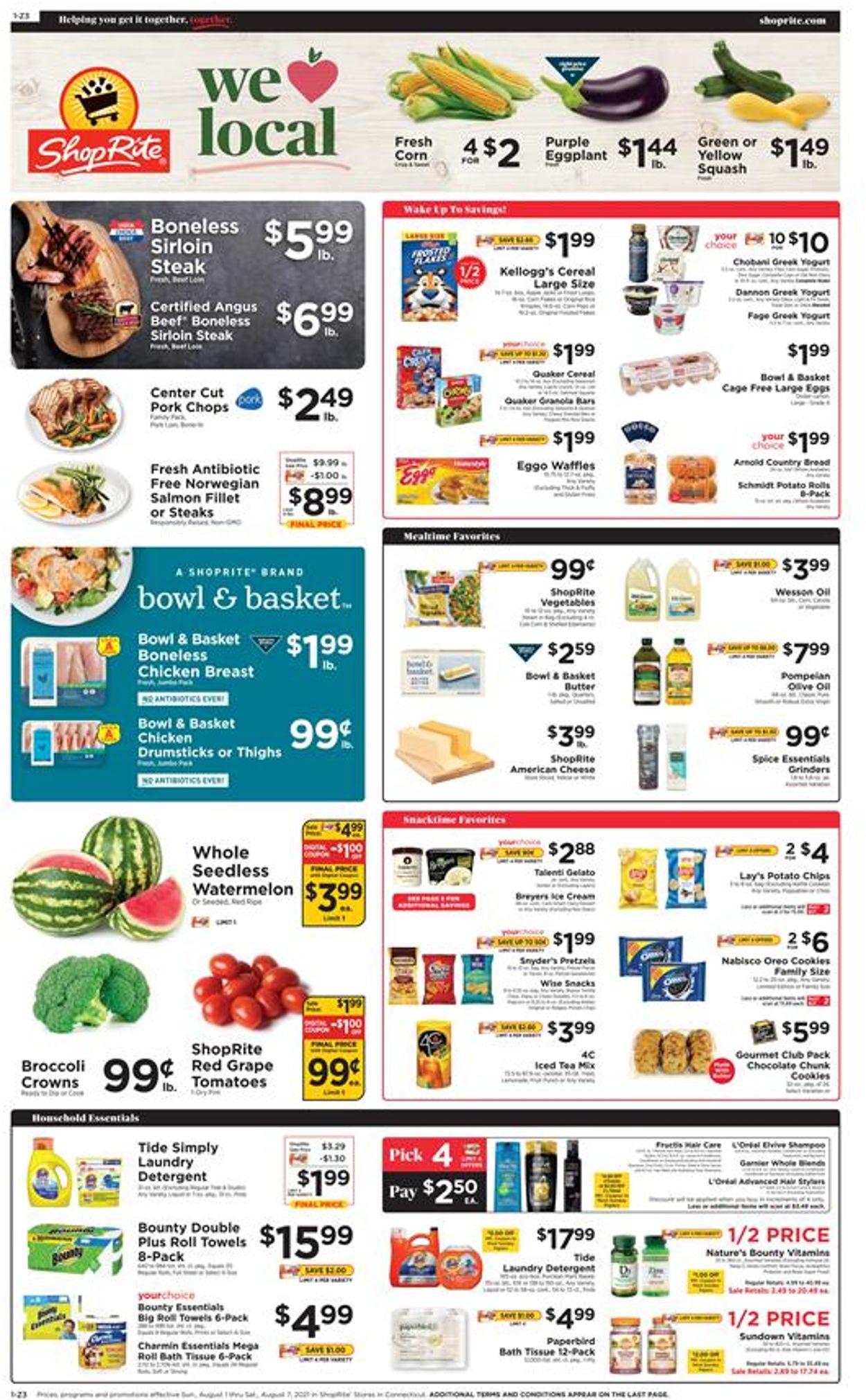 ShopRite Weekly Ad Circular - valid 08/01-08/07/2021 (Page 3)