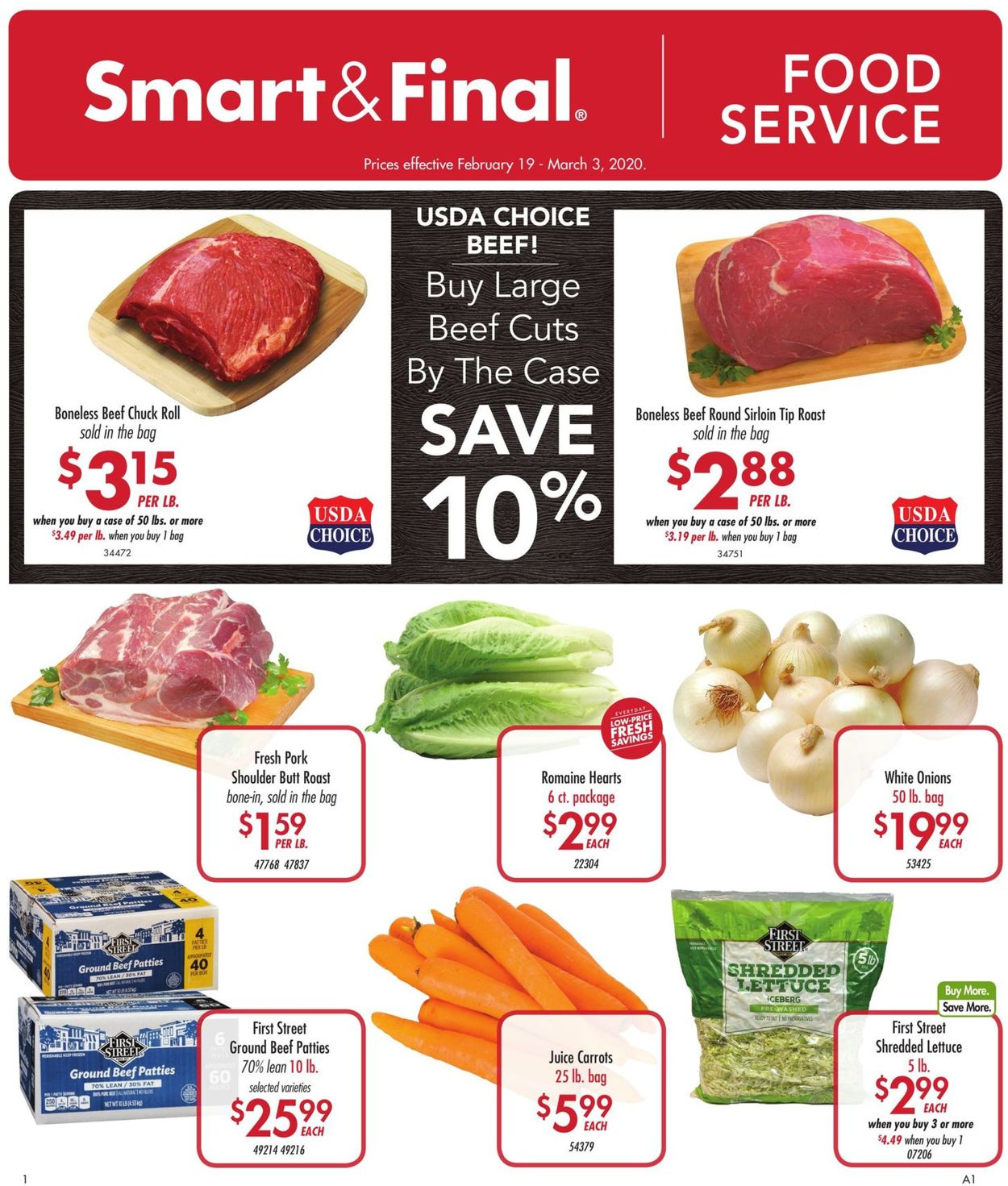 Smart and Final Weekly Ad Circular - valid 02/19-03/03/2020