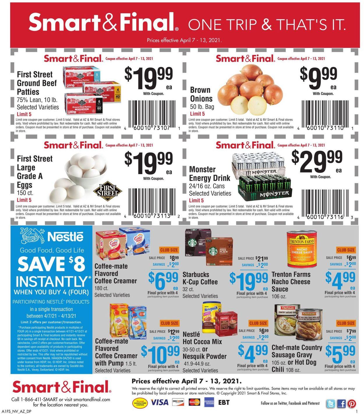 Smart and Final Weekly Ad Circular - valid 04/07-04/13/2021