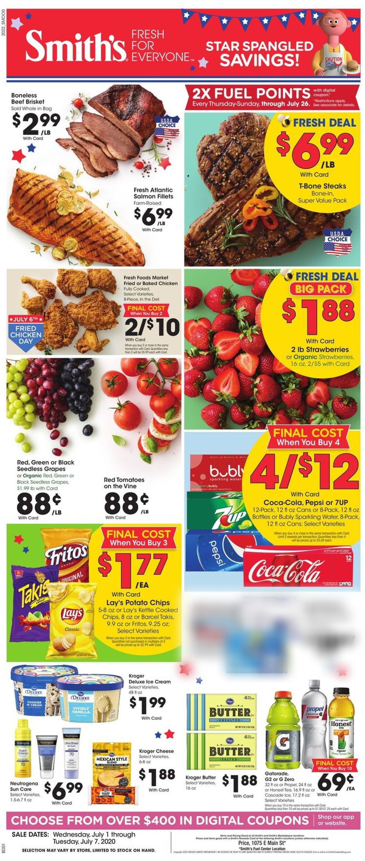 Smith's Weekly Ad Circular - valid 07/01-07/07/2020