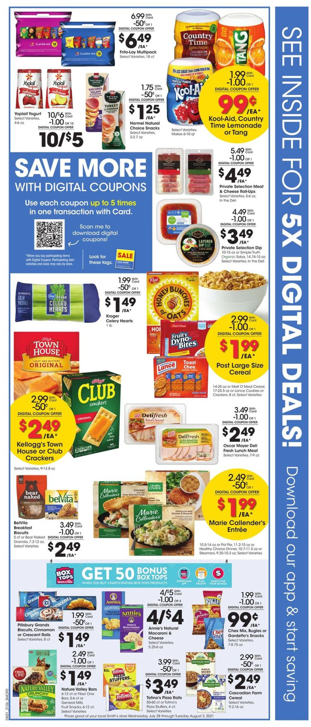 Smith's Weekly Ad Circular - valid 07/28-08/03/2021 (Page 2)