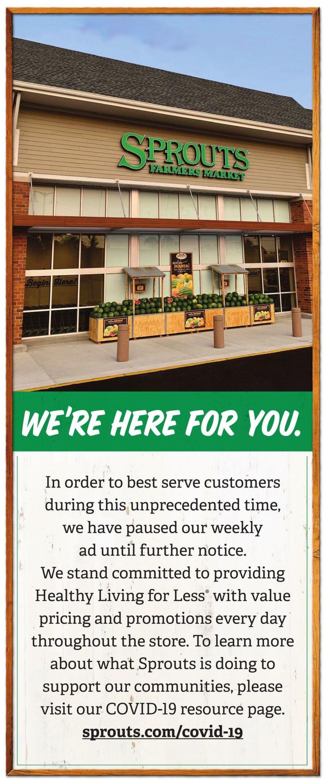 Sprouts Weekly Ad Circular - valid 03/25-04/15/2020