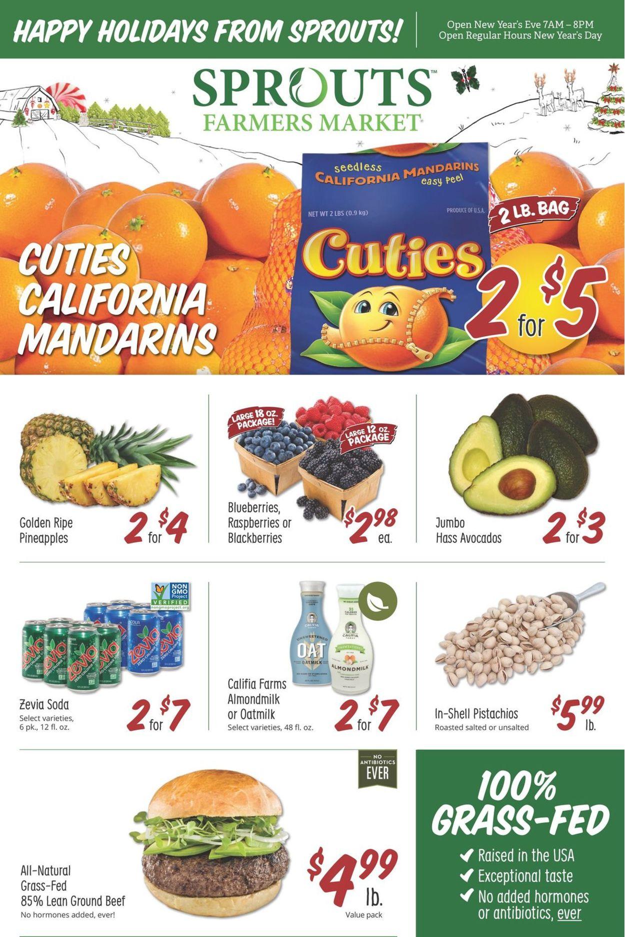Sprouts Weekly Ad Circular - valid 12/26-12/29/2020