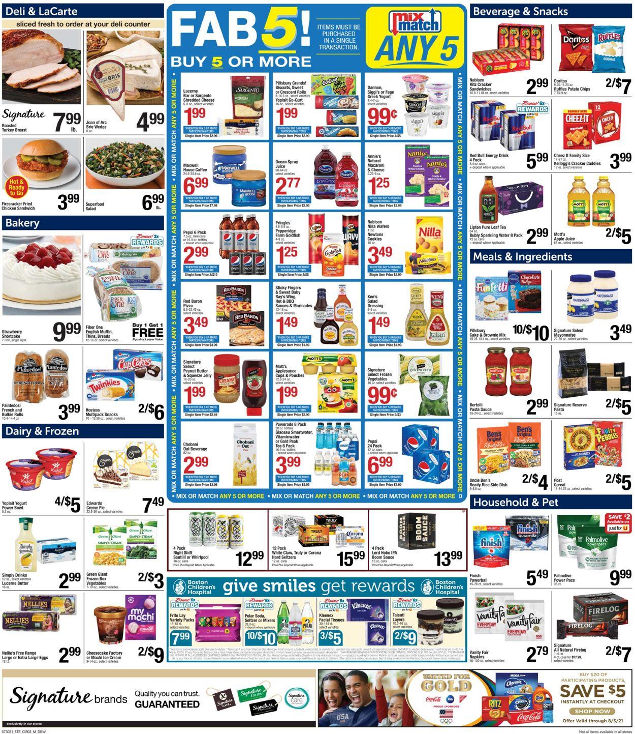 Star Market Weekly Ad Circular - valid 07/30-08/05/2021 (Page 3)