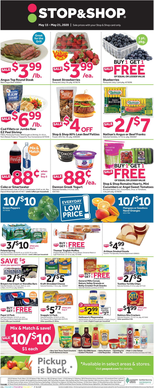 Stop and Shop Weekly Ad Circular - valid 05/15-05/21/2020