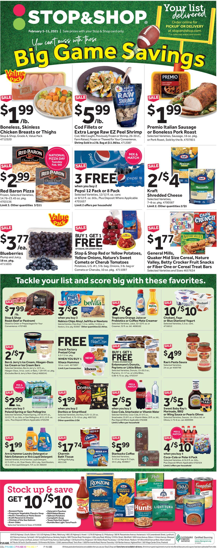 Stop and Shop Weekly Ad Circular - valid 02/05-02/11/2021