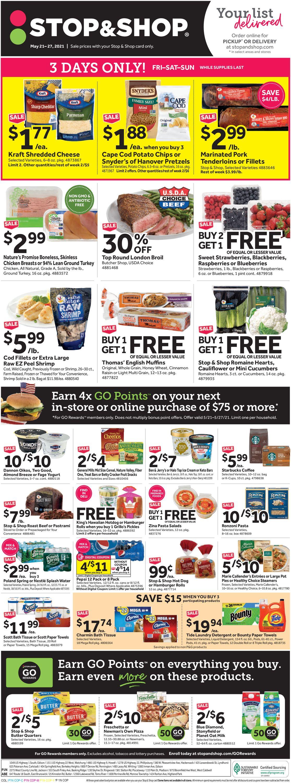 Stop and Shop Weekly Ad Circular - valid 05/21-05/27/2021