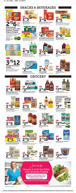 Stop and Shop Weekly Ad Circular - valid 07/23-07/29/2021 (Page 7)