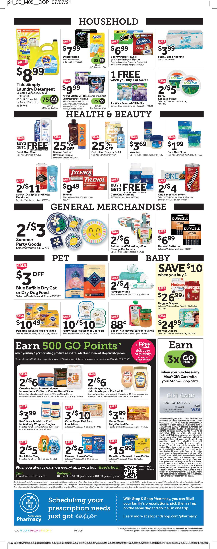 Stop and Shop Weekly Ad Circular - valid 07/23-07/29/2021 (Page 8)