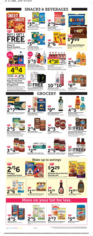 Stop and Shop Weekly Ad Circular - valid 07/30-08/05/2021 (Page 8)