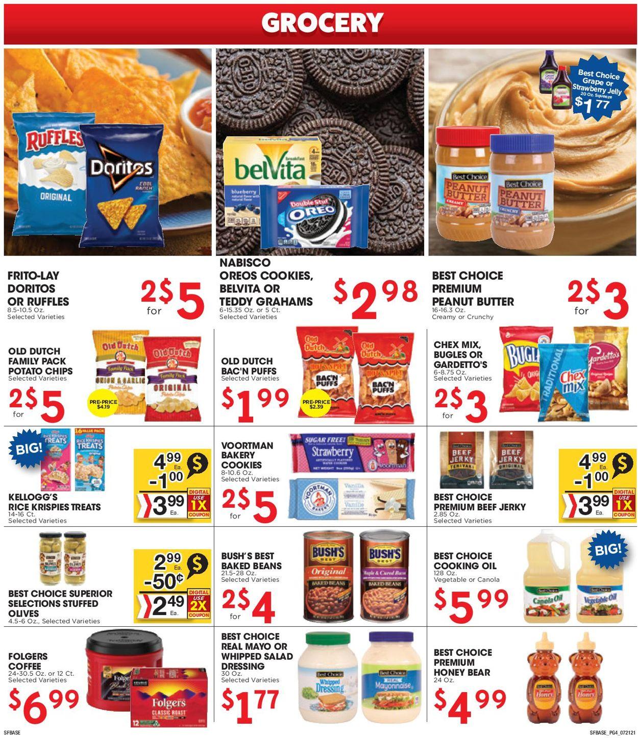 Sunshine Foods Weekly Ad Circular - valid 07/21-07/27/2021 (Page 4)