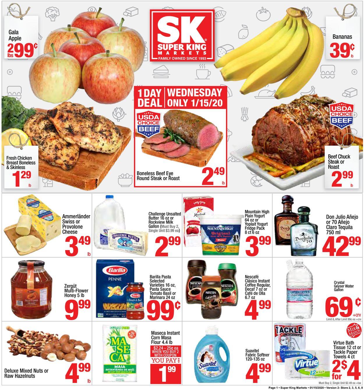 Super King Market Weekly Ad Circular - valid 01/15-01/21/2020