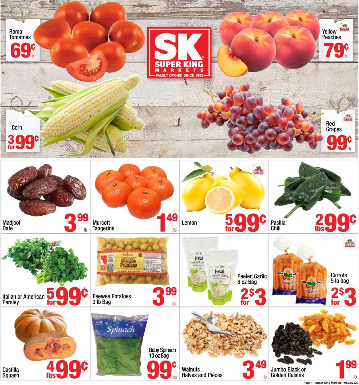 Super King Market Weekly Ad Circular - valid 08/26-09/01/2020