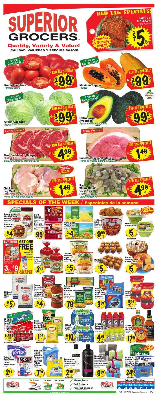 Superior Grocers Weekly Ad Circular - valid 01/27-02/02/2021