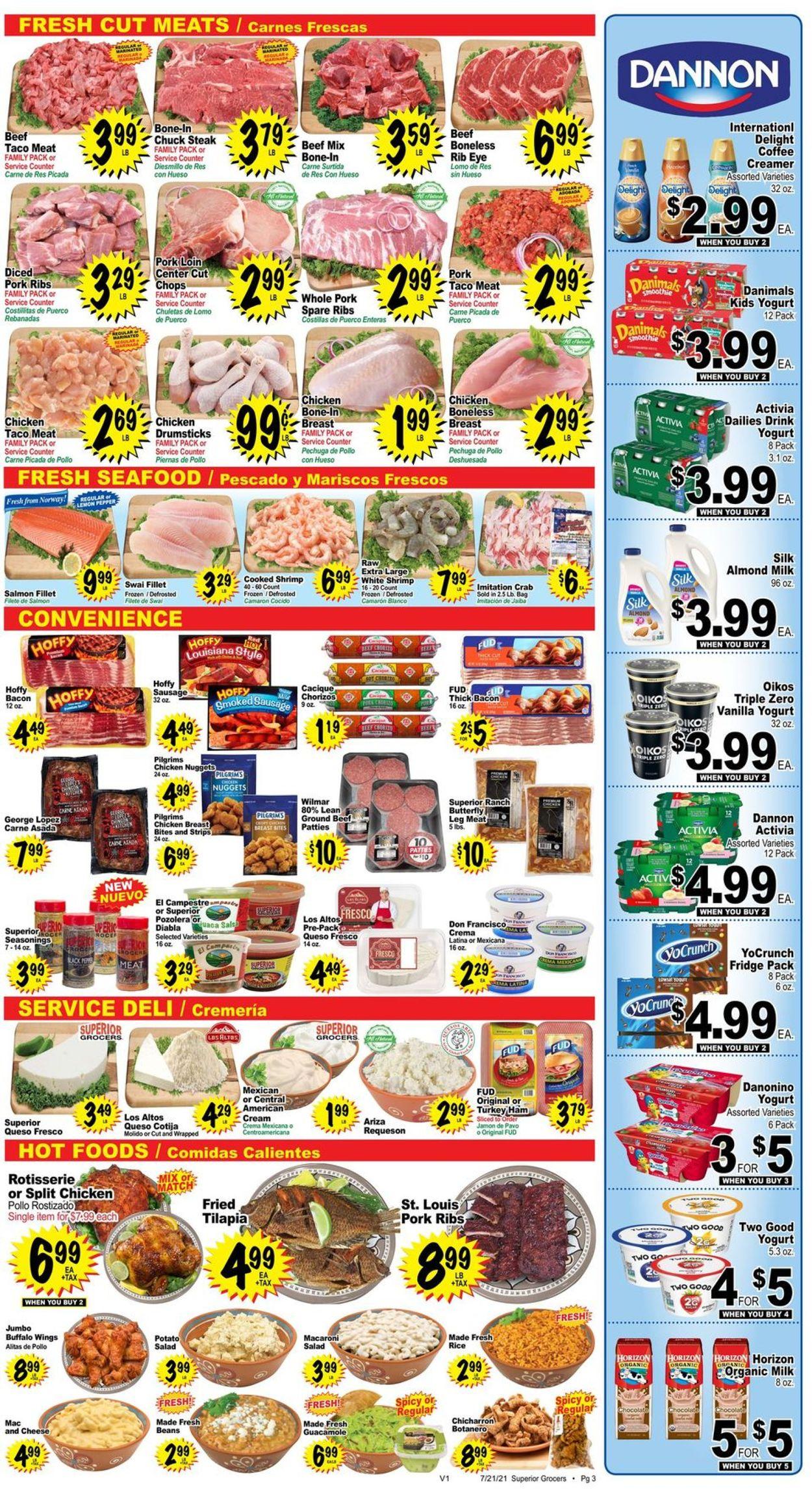 Superior Grocers Weekly Ad Circular - valid 07/21-07/27/2021 (Page 3)