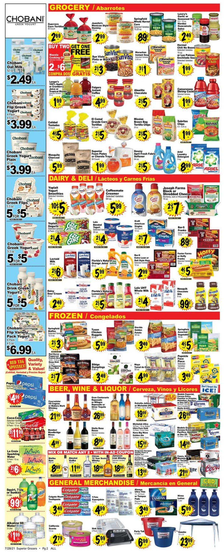 Superior Grocers Weekly Ad Circular - valid 07/28-08/03/2021 (Page 2)