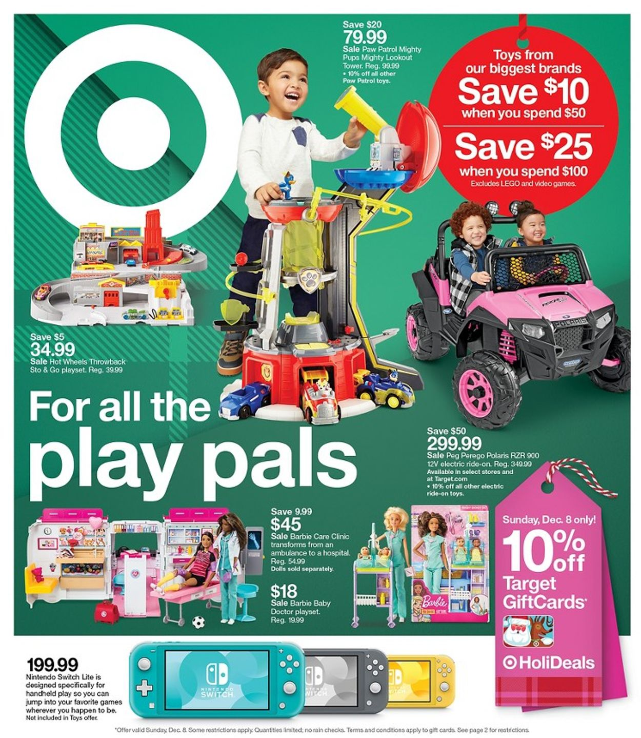 Target - Holiday Ad 2019 Weekly Ad Circular - valid 12/08-12/14/2019