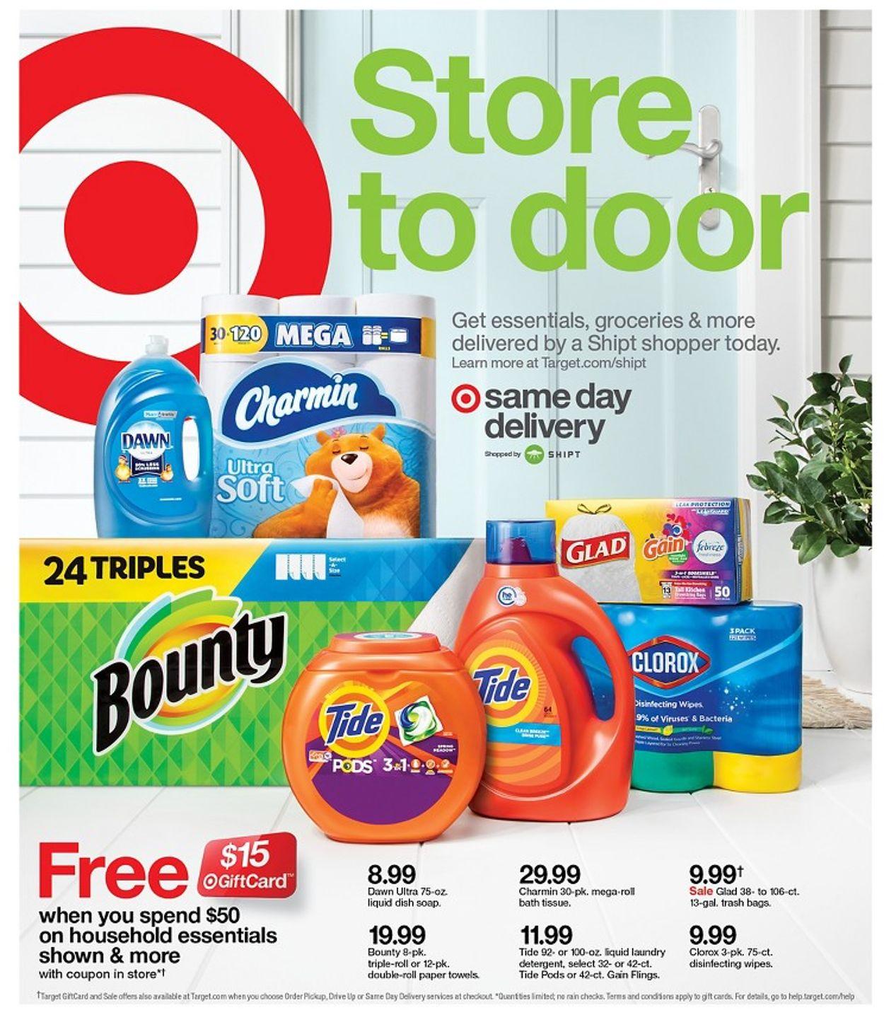Target Weekly Ad Circular - valid 03/01-03/07/2020