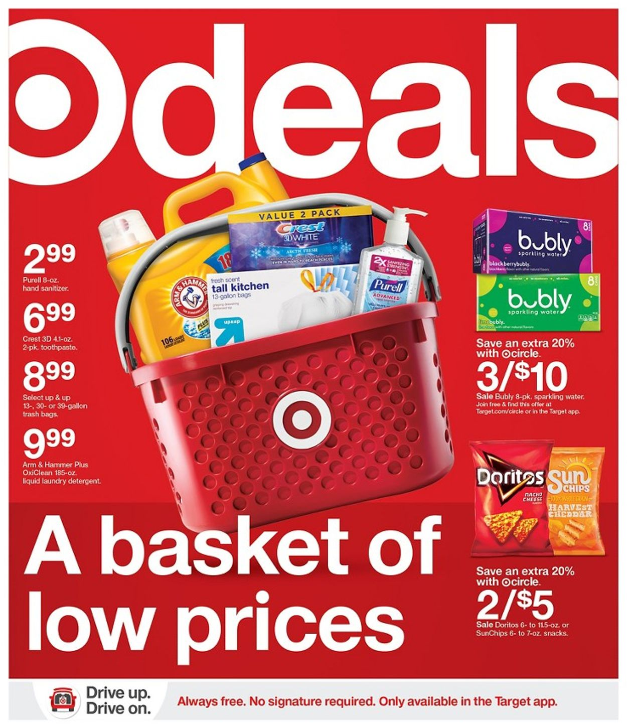 Target Weekly Ad Circular - valid 01/17-01/23/2021