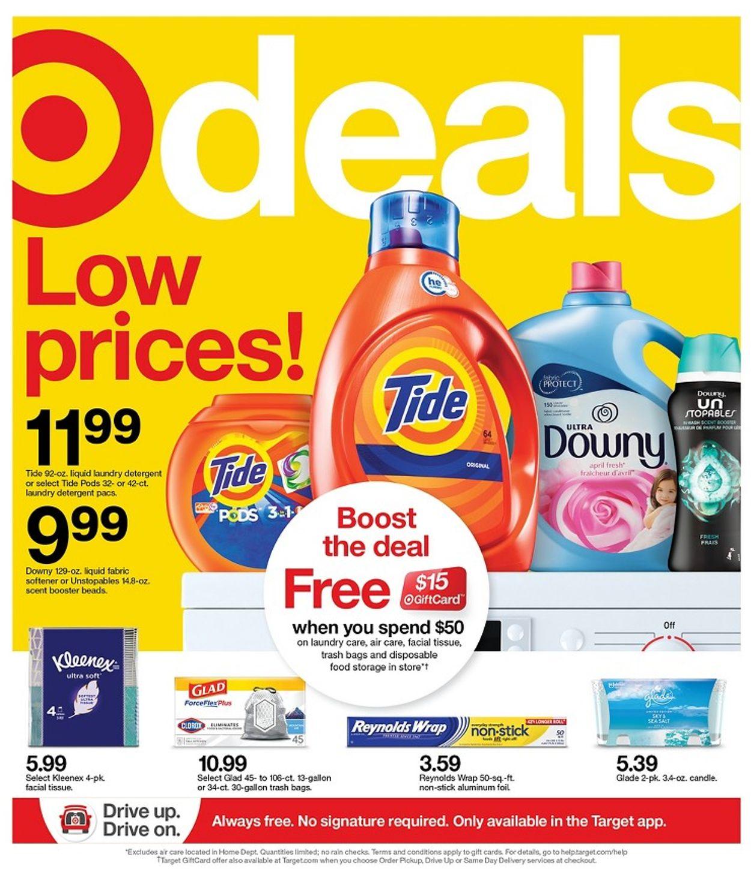 Target Weekly Ad Circular - valid 02/28-03/06/2021