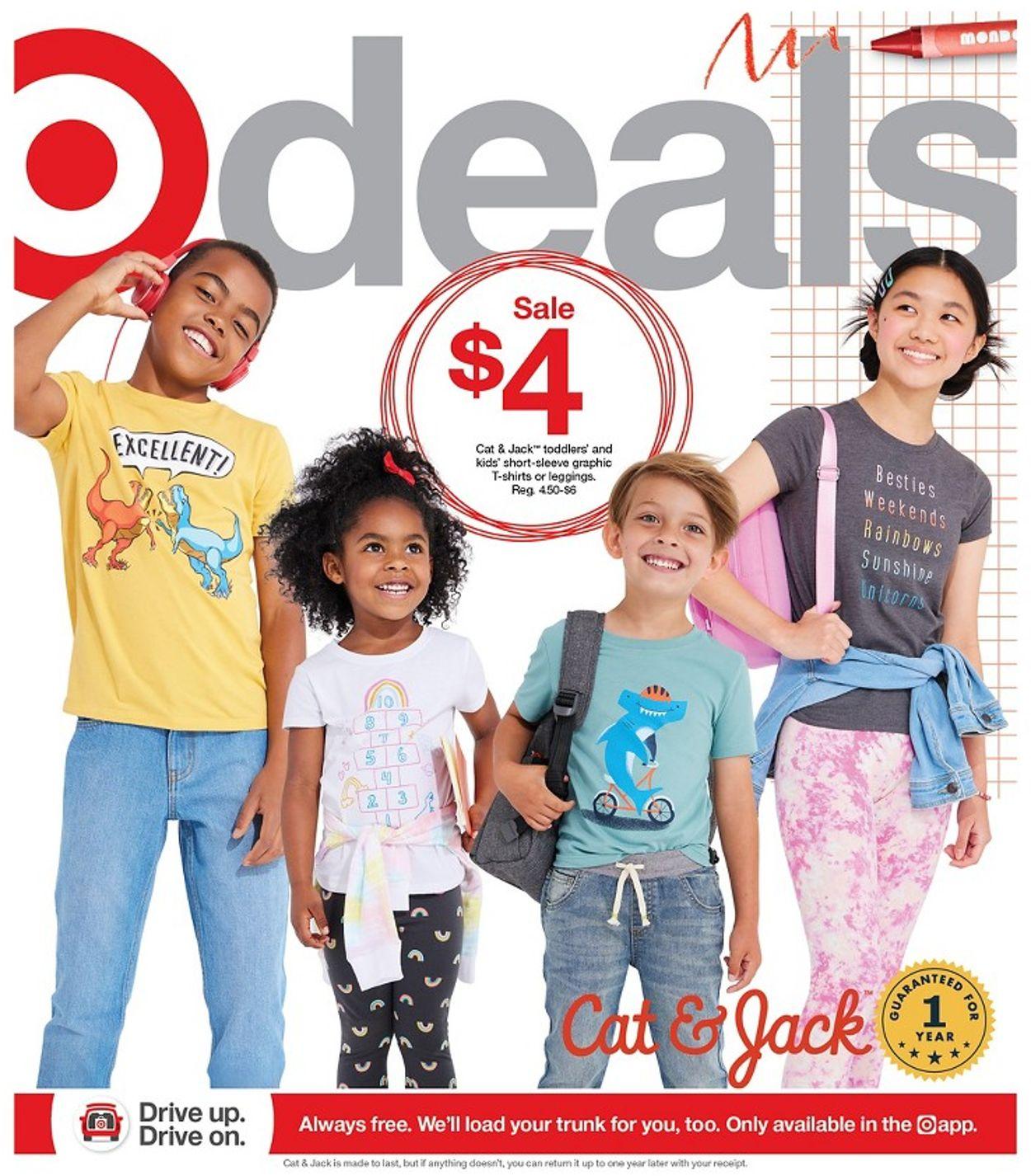 Target Weekly Ad Circular - valid 08/01-08/07/2021