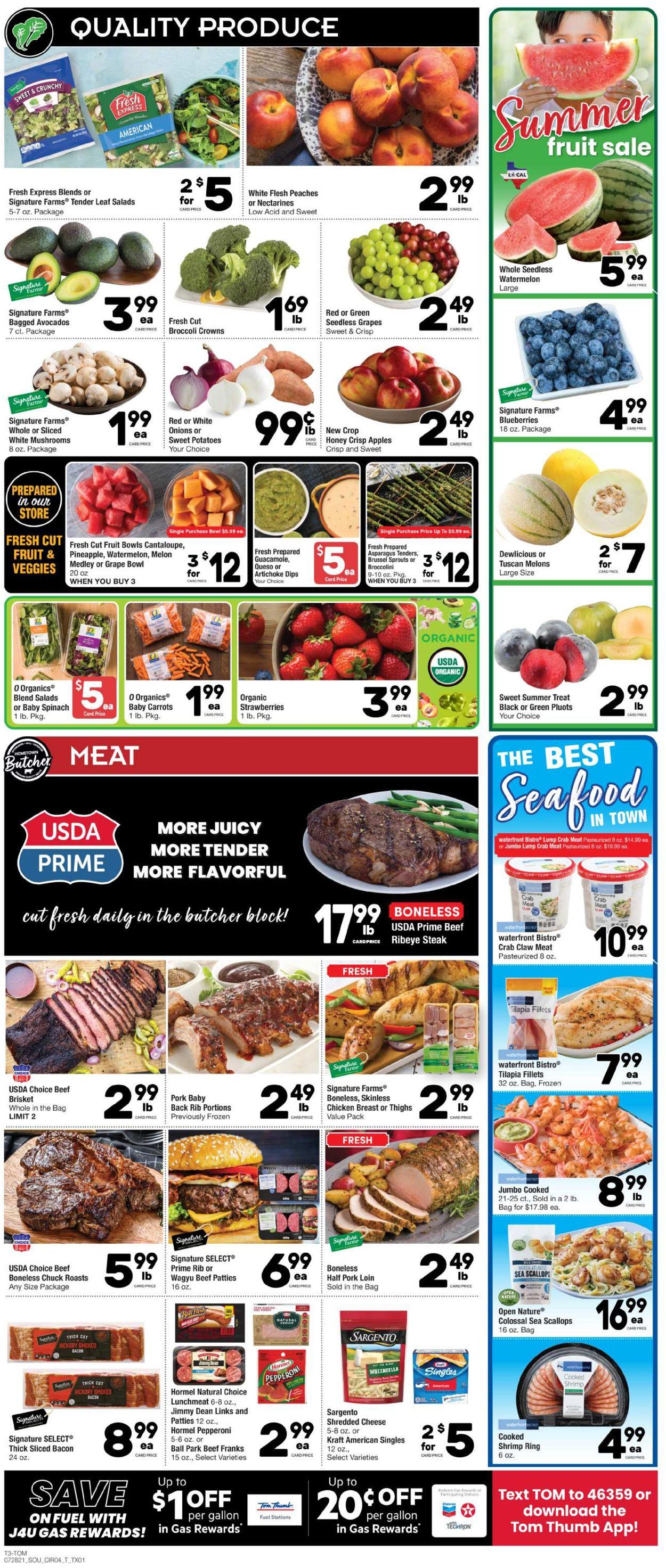 Tom Thumb Weekly Ad Circular - valid 07/28-08/03/2021 (Page 3)