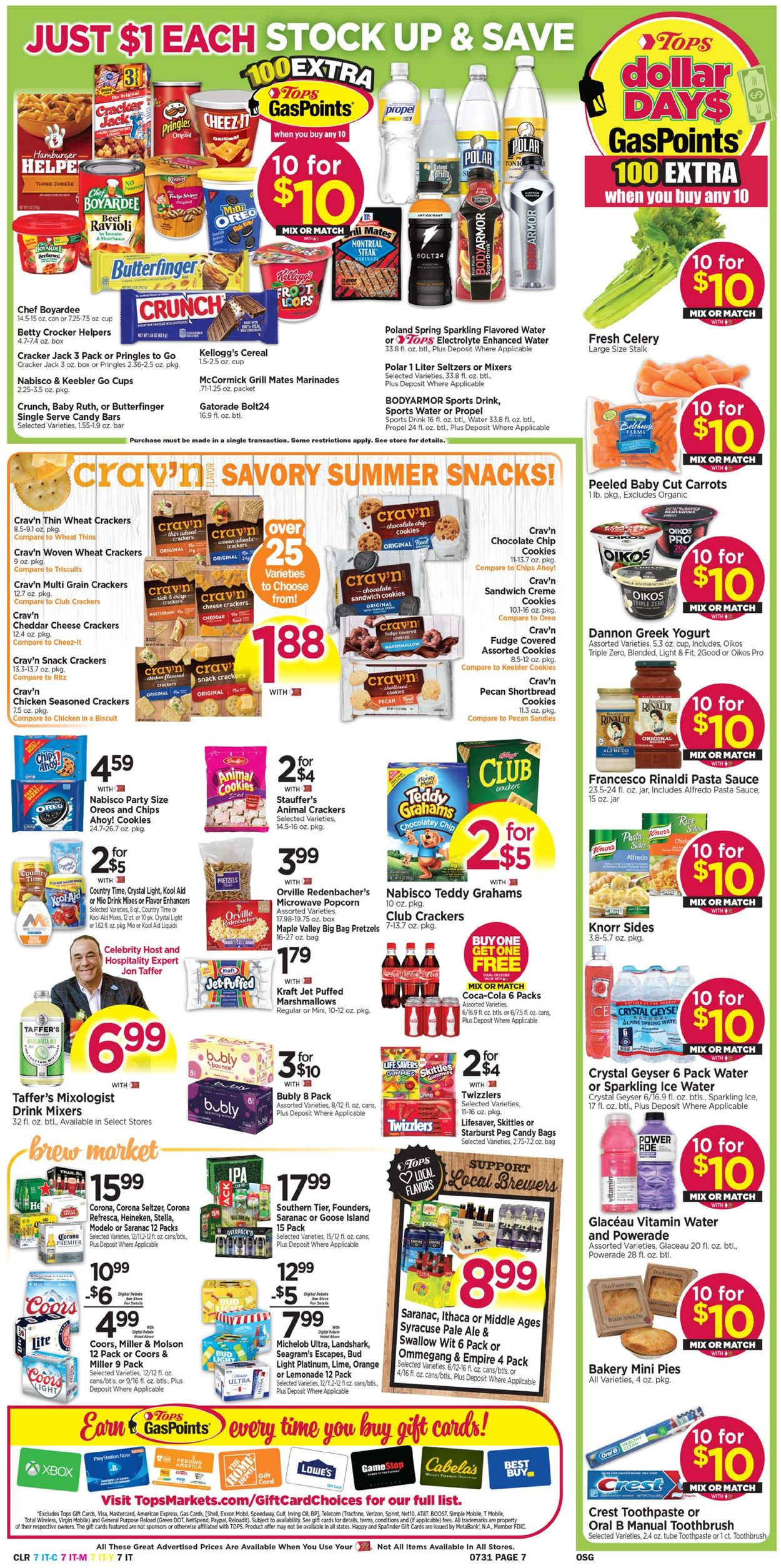 Tops Friendly Markets Weekly Ad Circular - valid 07/25-07/31/2021 (Page 7)