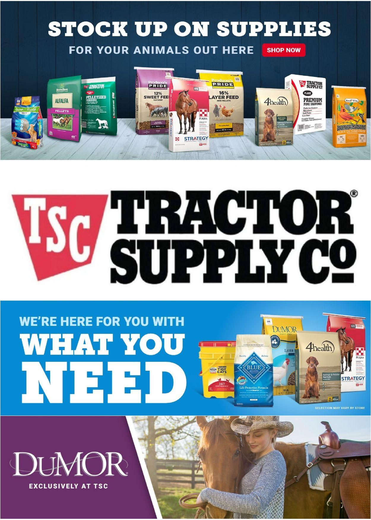 Tractor Supply Weekly Ad Circular - valid 02/02-02/08/2021