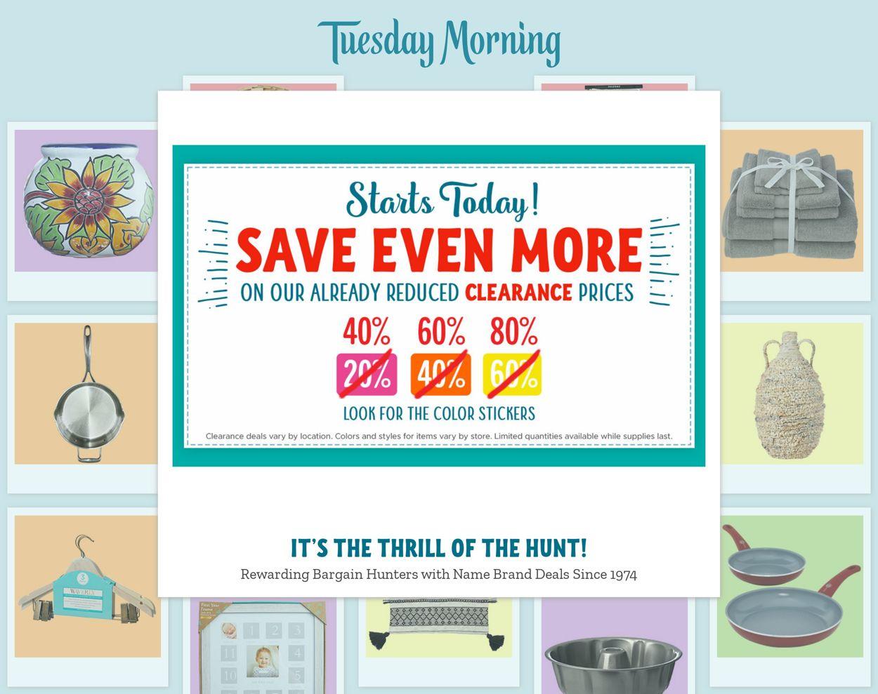 Tuesday Morning Weekly Ad Circular - valid 02/18-02/24/2021