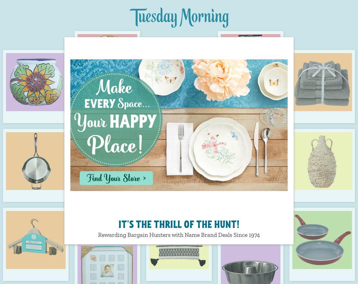 Tuesday Morning Weekly Ad Circular - valid 03/04-03/10/2021