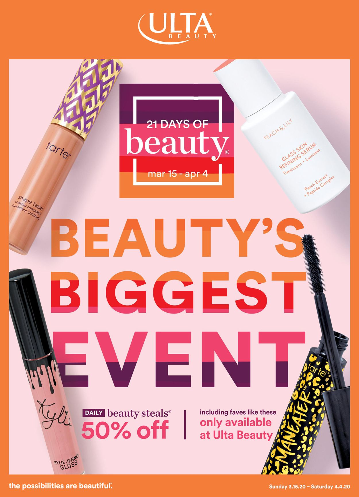 Ulta Beauty Weekly Ad Circular - valid 03/15-04/04/2020