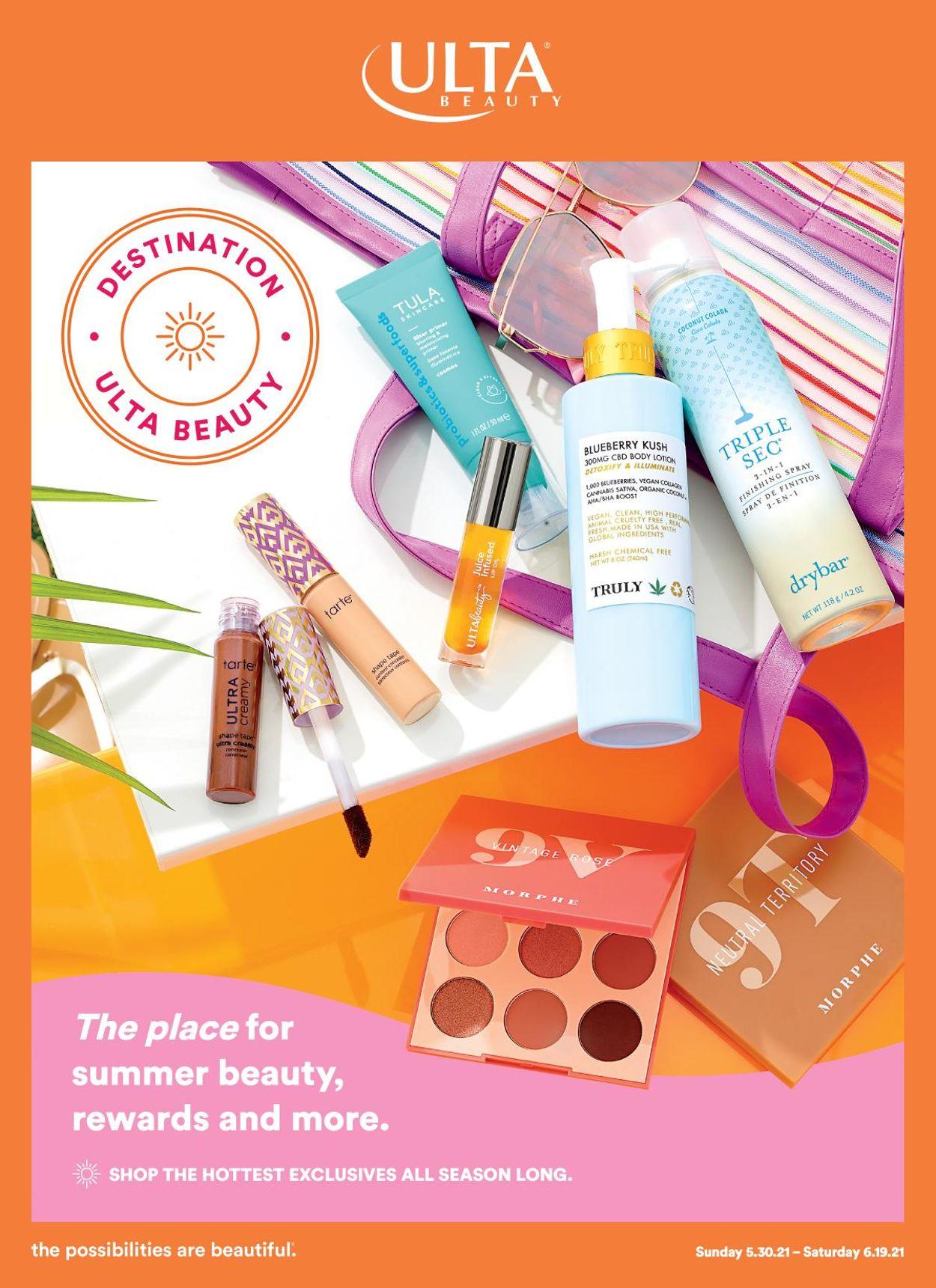 Ulta Beauty Weekly Ad Circular - valid 05/30-06/19/2021