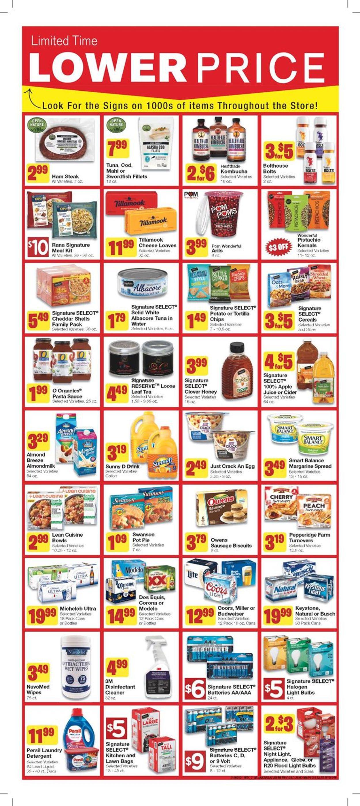 United Supermarkets Weekly Ad Circular - valid 01/06-01/12/2021