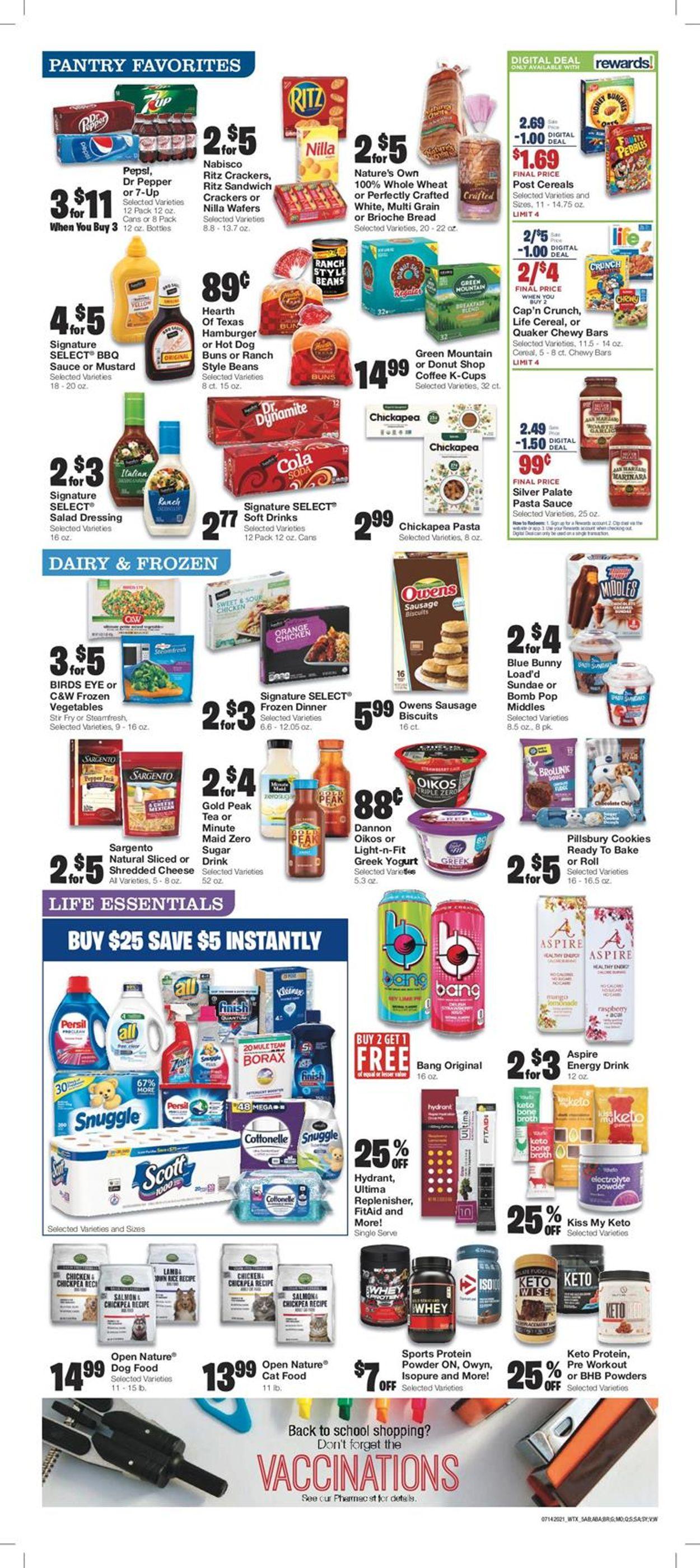 United Supermarkets Weekly Ad Circular - valid 07/14-07/20/2021 (Page 5)