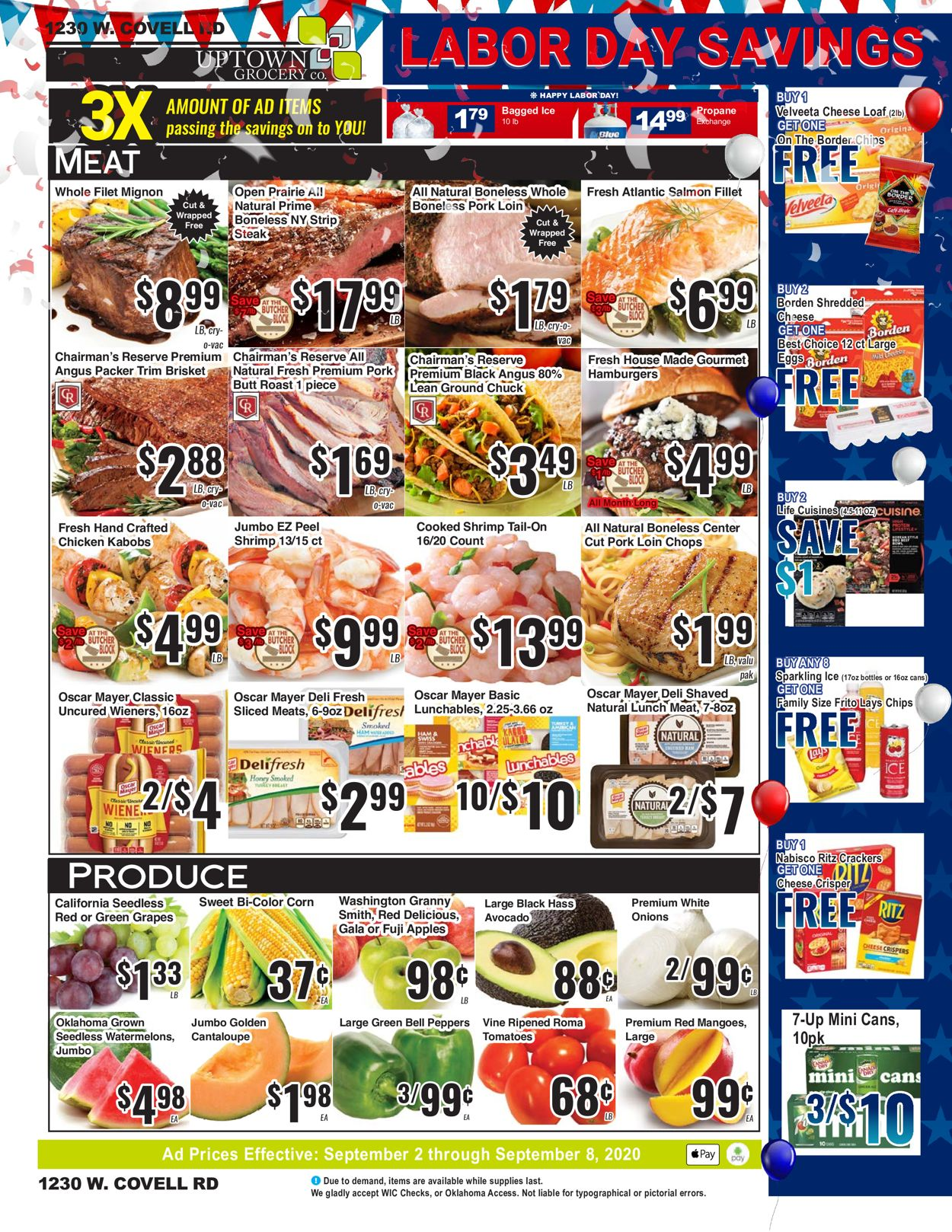 Uptown Grocery Co. Weekly Ad Circular - valid 09/02-09/08/2020