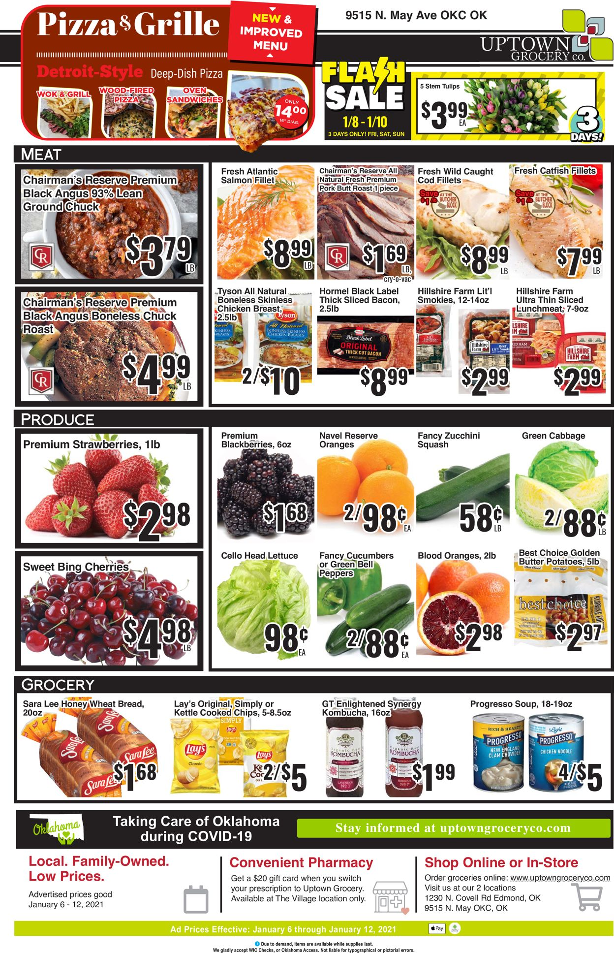 Uptown Grocery Co. Weekly Ad Circular - valid 01/06-01/12/2021