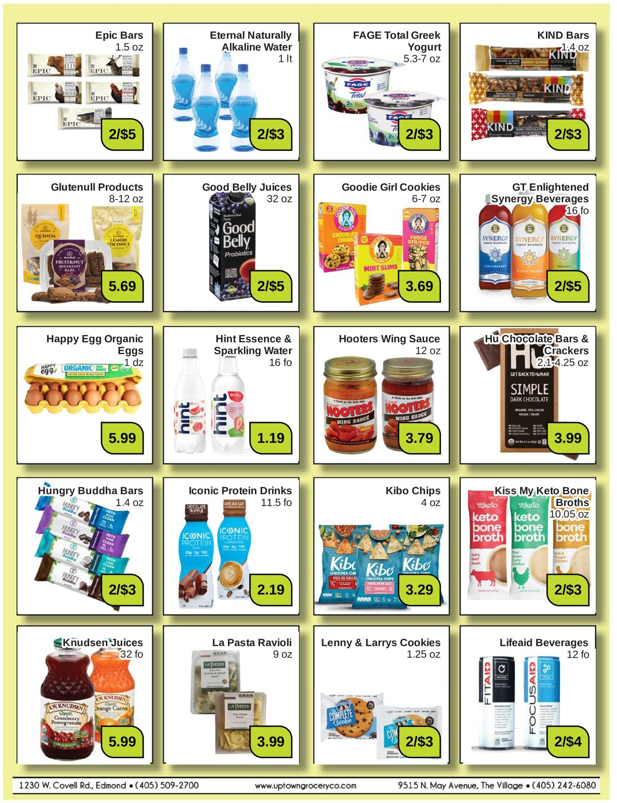 Uptown Grocery Co. Weekly Ad Circular - valid 12/27-01/30/2022 (Page 2)